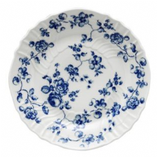 Richard Ginori Rose Blue Flat Plate 33cm